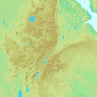 アディスアベバ,エチオピア,世界地図