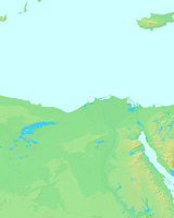 アレクサンドリア,エジプト,世界地図