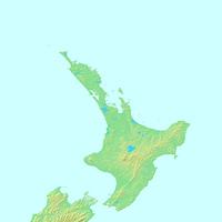 オークランド,ニュージーランド,世界地図