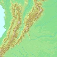 ボゴタ,サンタフェデボゴタ,コロンビア,世界地図