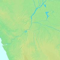 ブラザヴィル,コンゴ共和国,世界地図