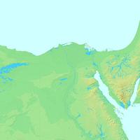カイロ,エジプト,世界地図