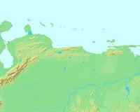 カラカス,ベネズエラ,世界地図