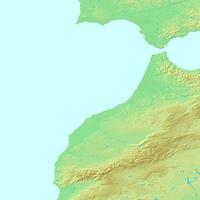 カサブランカ,モロッコ,世界地図