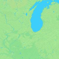 シカゴ,アメリカ合衆国,世界地図
