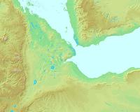 ジブチ,ジブチ共和国,世界地図