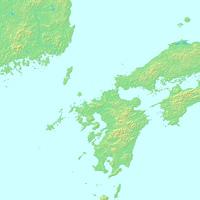 福岡,九州地方,福岡県,日本地図