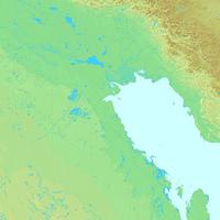 クウェート,世界地図