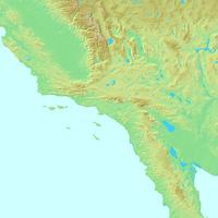 ロサンゼルス,アメリカ合衆国,世界地図
