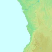 ルアンダ,アンゴラ,世界地図