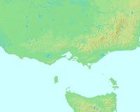 メルボルン,オーストラリア,世界地図