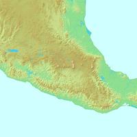 メキシコシティ,メキシコ,世界地図