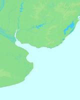 モンテビデオ,ウルグアイ,世界地図