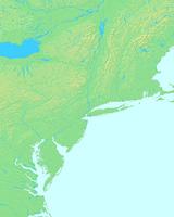ニューヨーク,アメリカ合衆国,世界地図