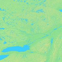 オタワ,カナダ,世界地図