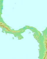 パナマ,パナマ共和国,世界地図