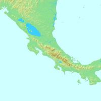 サンホセ,コスタリカ,世界地図
