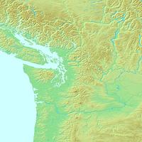 シアトル,アメリカ合衆国,世界地図