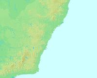 シドニー,オーストラリア,世界地図
