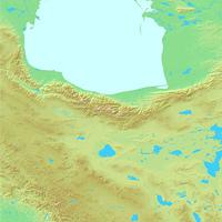 テヘラン,イラン,世界地図