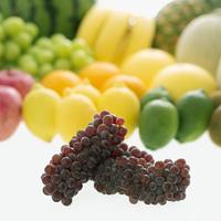 ブドウとフルーツの集合