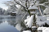 金沢 冬の兼六園