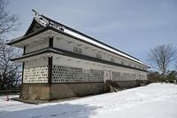 金沢城 三十間長屋 冬