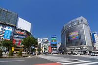 渋谷の町並み