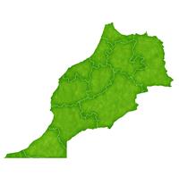 モロッコ 地図 国 アイコン