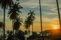 タオ島の夕日