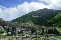 古いトロッコの橋
