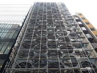 ビルの改装工事
