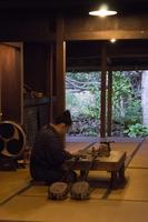 琉球村の女性