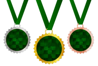 メダル フレーム リボン アイコン