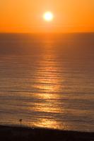 小田原市国府津海岸の海と日の出