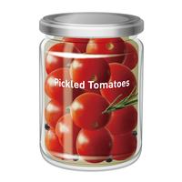 ピクルス瓶_トマト
