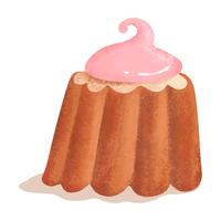 ケーキ苺クリーム