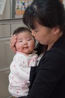 泣き止んだ赤ん坊
