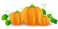 ハロウィン かぼちゃ 野菜 アイコ
