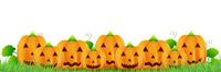 ハロウィン かぼちゃ お化け 背景