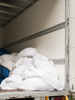 業務用洗濯物の回収