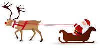 クリスマス サンタ トナカイ アイコン
