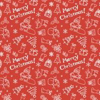クリスマス模様 サンタクロース、トナカイ