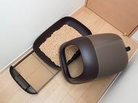 猫用のシステムトイレ