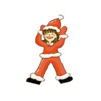 クリスマス女の子2