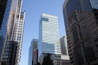 ビジネスと金融街の高層ビル