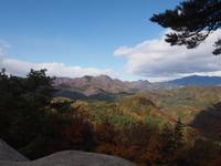 昇仙峡山頂からの風景
