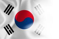 韓国 国 旗 背景