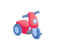 おもちゃのバイク