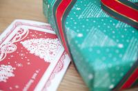 クリスマスプレゼントとクリスマスカード
